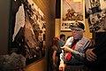Iwo Jima veterans tour the National Museum of the Marine Corps (4374069838).jpg