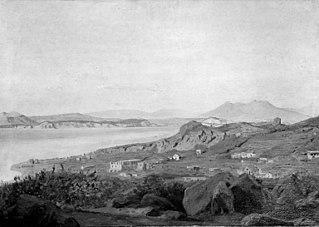 A View of Casamicciola, Ischia