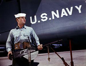 U.S. Navy seaman J.D. Estes