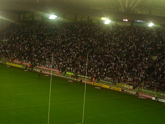 DW Stadium - The eastern 'Boston Stand'