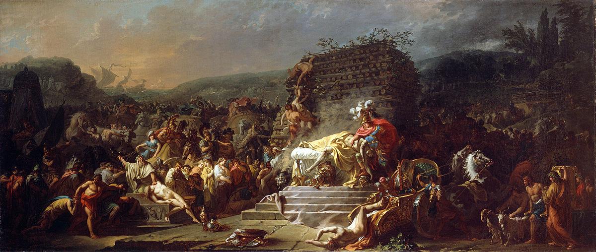Citaten Seneca Fallout 4 : The funeral games of patroclus wikipedia