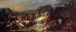 Jacques-Louis David: The Funeral Games of Patroclus