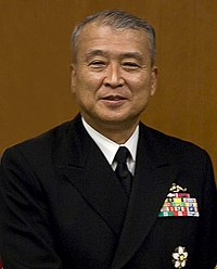 JMSDF Admiral Takashi Saito 齋藤隆海将 (Defense.gov photo essay 071108-N-0696M-150).jpg