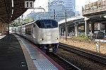 JRW 281 Haruka at Shin-Osaka Station 2012-12-03.jpg