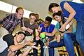 JSTI students explore robotics 150908-A-AB123-001.jpg
