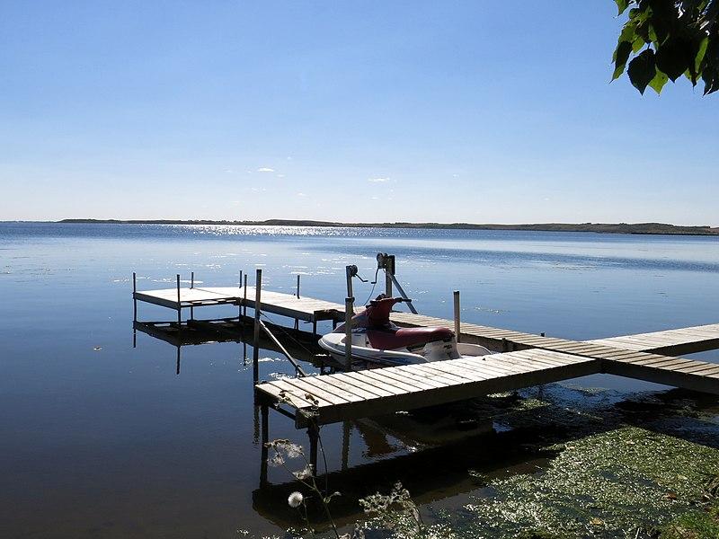 jackfish lake pier, Saskatchewan