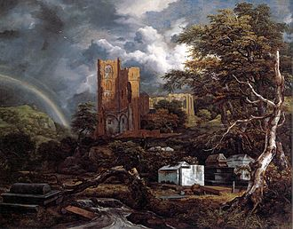 Pallache family - The Jewish Cemetery by Jacob van Ruisdael, where Samuel Pallache, his brother, and descendants lie buried