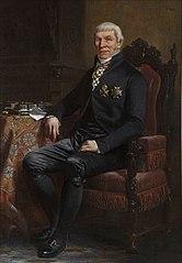 Portret van Anthonie van Hoboken (1756-1850)