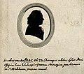 Jacob van der Haar. Engraved silhouette, 1788. Wellcome V0005983.jpg