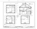 Jacobus Van Gorden House, U.S. Route 209, Egypt Mills, Pike County, PA HABS PA,52-EGYMI.V,2- (sheet 2 of 3).png