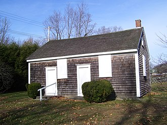 Friends Meetinghouse (Jamestown, Rhode Island) - Image: Jamestown Rhode Island Friends Meeting House 1