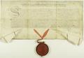 Jan III Sobieski zaświadcza, że posłowie miasta Poznania złożyli przysięgę wierności.png