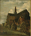 Jan Wouwerman - St. Bavokerk from the southeast.jpg