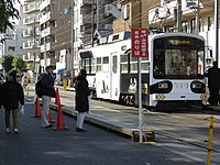 Japanese New Year of Sumiyoshi Toriimae Station (02) IMG 8736 R 20150103.JPG