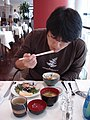 Japanese breakfast by moochida at a Frankfurt hotel.jpg
