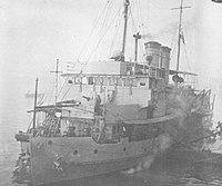 Japanese gunboat Tatara 1942