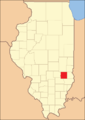 Jasper County at the time of its creation in 1831