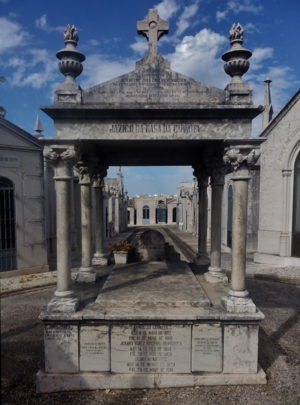 John Smith Athelstane, 1st Count of Carnota - Family plot of the House of Carnota, Alto de São João Cemetery, Lisbon