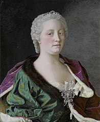 Maria Theresa, Archduchess of Austria, Queen of Hungary and Bohemia, and Holy Roman Empress