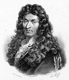 Portrait of Jean Baptiste Lully around the 1670s