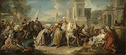 Jean François de Troy: The Triumph of Mordecai