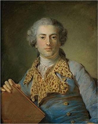 Jean-Georges Noverre - Jean-Georges Noverre (Perronneau, 1764, Louvre)