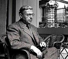 Jean-Paul Sartre 1950.