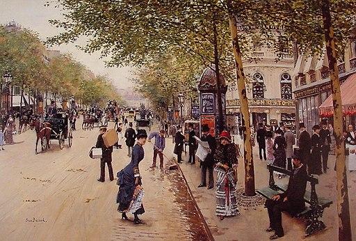Jean Béraud Boulevard des capucines