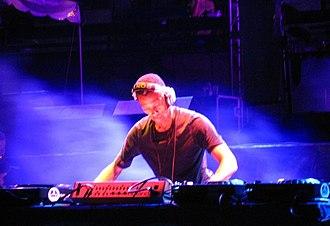 Jeff Mills - Jeff Mills performing in Detroit in 2007.