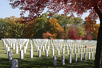 Jefferson Barracks National Cemetery, St. Loui...
