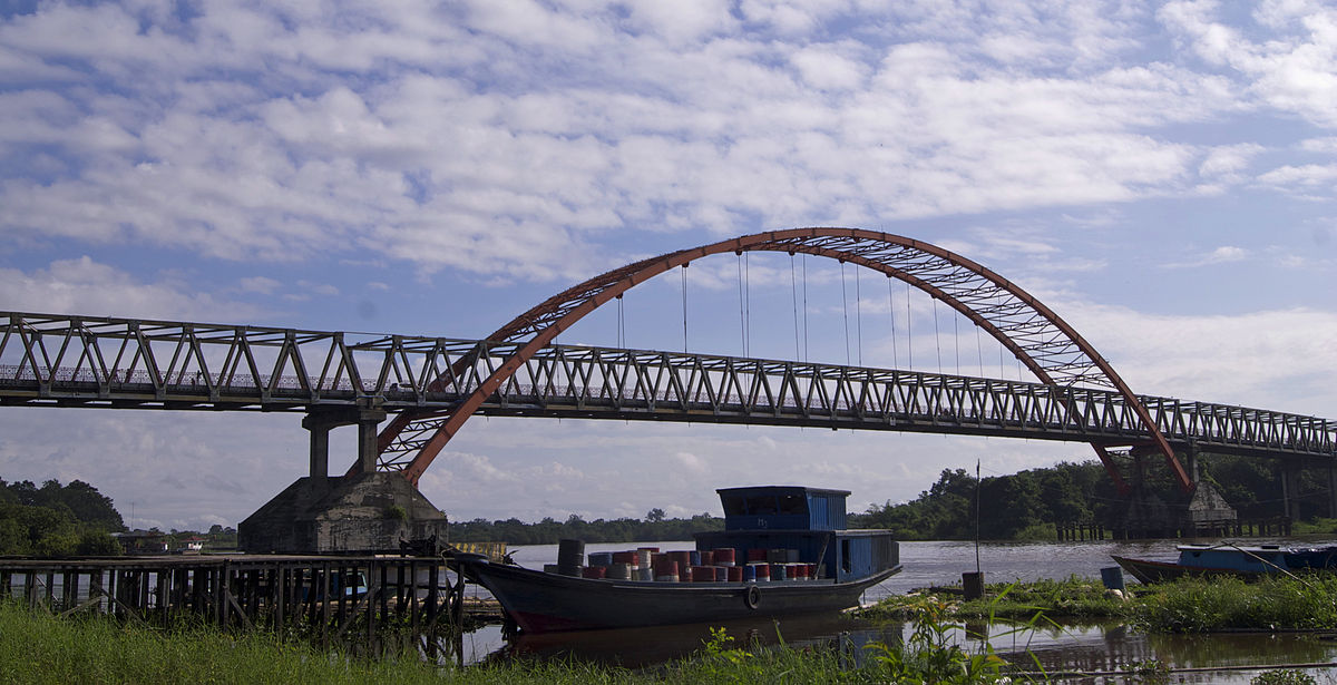 Jembatan Kahayan Wikipedia Bahasa Indonesia Ensiklopedia Bebas