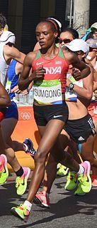 Jemima Sumgong Kenyan long-distance runner