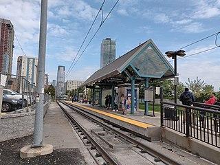 Jersey Avenue station (Hudson–Bergen Light Rail) Hudson–Bergen Light Rail station