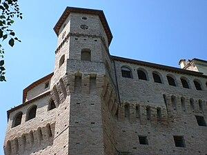 Iesi - Image: Jesi, Mura, Montirozzo