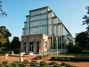 Jewel Box (St. Louis) - Image: Jewel Box 2013