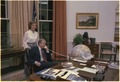 Jimmy Carter and Rosalynn Carter in the Oval Office - NARA - 178965.tif