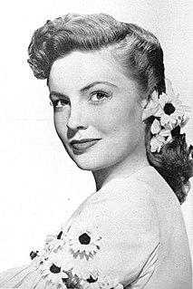 Joan Leslie American actress
