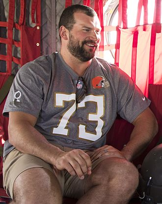 Joe Thomas (offensive tackle) - Thomas at the 2016 Pro Bowl.