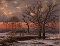 Johan Christian Dahl - Danish Winter Landscape with Dolmen - NG.M.00272 - National Museum of Art, Architecture and Design.jpg
