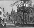 Johannes Jelgerhuis - Het Leprozenhuis gezien van de grote binnenplaats - SA 1858 - Amsterdam Museum.jpg