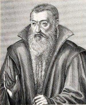 Johannes Sturm - Portrait by Jacob van der Heyden after Tobias Stimmer