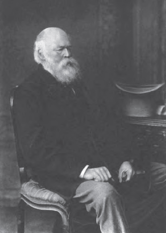 John Charles Molteno - Molteno in later life, from a photograph taken in 1878 after his retirement.