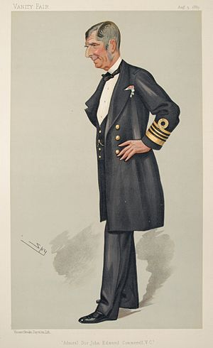 John Edmund Commerell - Admiral Sir John Commerell as depicted in Vanity Fair