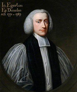 John Egerton (bishop) British bishop