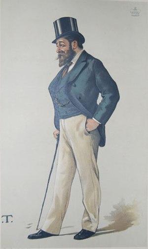 John Henniker-Major, 5th Baron Henniker - Image: John Henniker Major Vanity Fair 1 July 1882