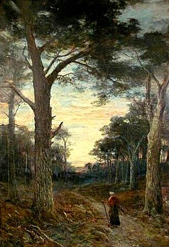 John MacWhirter - The Gates of the Forest, 1910 (Royal Academy)
