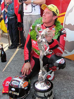 John McGuinness (motorcycle racer) - Image: John Mc Guinness, 2013 Isle of Man TT
