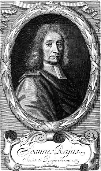 John Ray - Woodcut (1693)