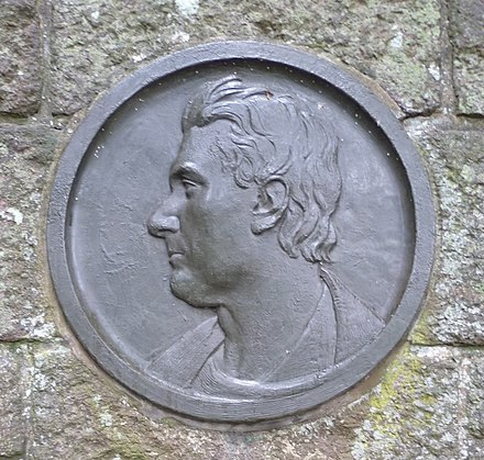 Portrait on the John Rennie Memorial at Phantassie, East Linton John Rennie Memorial portrait.JPG