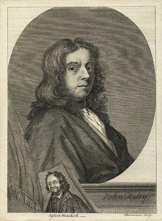John Riley (painter) - Riley by Egbert van Heemskerk the Younger (after John Riley)